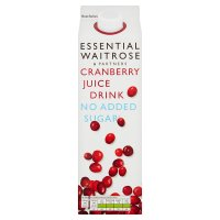 essential Waitrose Cranberry juice Drink