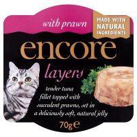 Encore layers with prawn