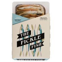 The Fickle Fish cold smoked anchovy fillets