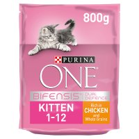 Purina ONE Kitten Rich in chicken & whole grains dry food