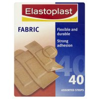 Elastoplast fabric plasters, assorted