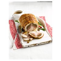 Easy Carve turkey and duck two bird roast with stuffing