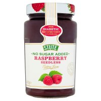 Stute no added sugar raspberry jam