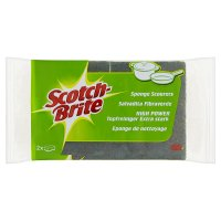 Scotch-Brite sponge scourers (pack of 2)
