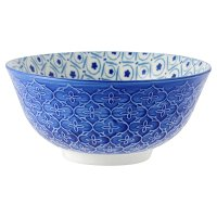 Waitrose Oriental Medium Blue Bowl