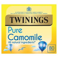 Twinings pure camomile 80 tea bags