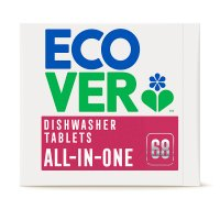 Ecover all-in-one dishwasher tablets citrus