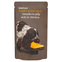 Waitrose chunks in jelly chicken