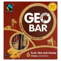 Traidcraft geobar honey nut
