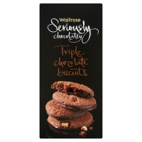 Waitrose Seriously Chocolatey triple chocolate biscuits