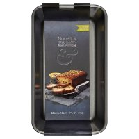 from Waitrose 23cmx13cm non-stick loaf tin