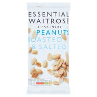 essential Waitrose large roasted & salted peanuts