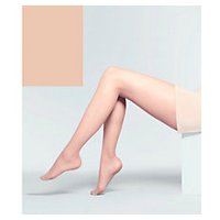 John Lewis Gentle Support Blond Tights - Large