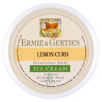Ermie & Gertie's lemon curd ice cream
