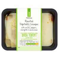 Waitrose Love life you count vegetable lasagne