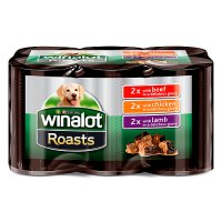 Winalot roast beef, chicken & lamb in gravy