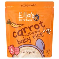 Ella's Carrot Multigrain Baby Rice