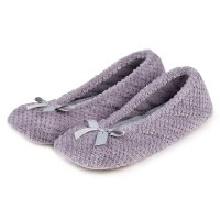 Ladies Popcorn Ballet in Grey Med