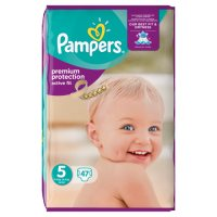 Pampers Active Fit Sz 5 Large 48 Nappies