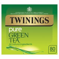 Twinings pure green 80 tea bags