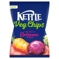 Kettle Veg Chips Sea Salt & Vinegar