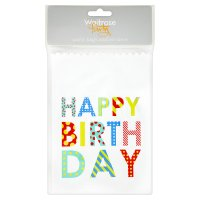 Waitrose Party 8 party bags & 10 stickers