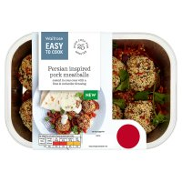 Easy To Cook Persian Inspired Pork Meatballs
