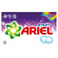 Ariel with Actilift Washing Tablets Colour and Style 20 Washes
