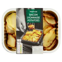 Waitrose Bacon Lyonnaise Potatoes