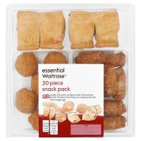 essential Waitrose 20 piece snack pack