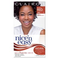 Clairol nice'n easy burgandy black 126