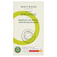 Waitrose Duchy Organic Highland all butter shortbread