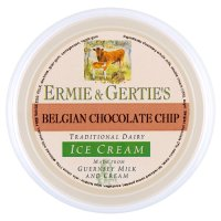 Ermie & Gertie's Belgian chocolate ice cream