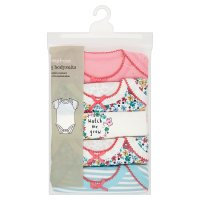 Waitrose girls bodysuits, pack of 5