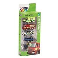 Corgi toys built to last vehicles, pack of 5, assorted