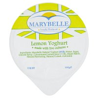 Marybelle lemon yogurt
