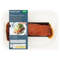 Waitrose Salmon Fillet in Teriyaki Marinade