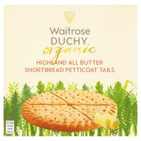 Duchy Originals from Waitrose organic Highland all butter shortbread petticoat tails