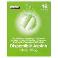 Aspar dispersible aspirin (pack of 16)