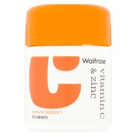 Immune support vitamin C & zinc