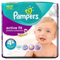 Pampers Active Fit 4+ Essential 36 Nappies