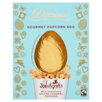 Divine Fairtrade Milk Chocolate Gourmet Popcorn Egg 232g