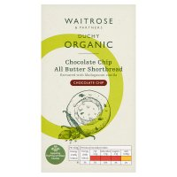 Waitrose Duchy Organic chocolate with vanilla all butter shortbread