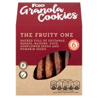 Fox's Granola Cookies The Fruity One 6s