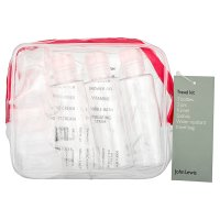 John Lewis Travel kit 3 bottles & 3 jars