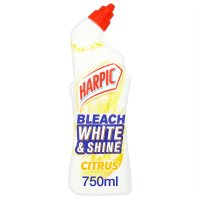 Harpic white & shine toilet cleaner, citrus fresh