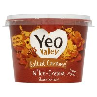 Yeo Valley salted caramel n'ice-cream