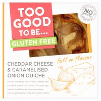 No.G Cheese & Onion Quiche