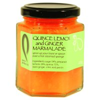 Quince Products quince lemon & ginger marmalade