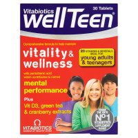 Vitabiotics wellTeen vitality & wellness
